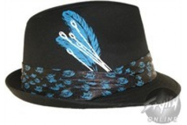 Alice in Wonderland Mad Hatter Fedora Style Hat