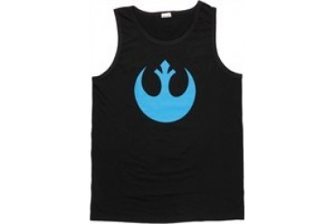 Star Wars Blue Rebel Logo Tank Top