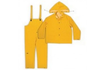 Midwest 3000-L-00 0.35Mm Pvc Rainsuit, 3-Piece, Sunburst Yellow