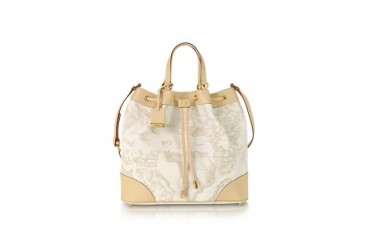 1a Prima Classe - Geo Printed ''Neo Casual'' Bucket Bag