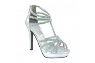 Touch Ups Shoes - Style Toni Silver 546