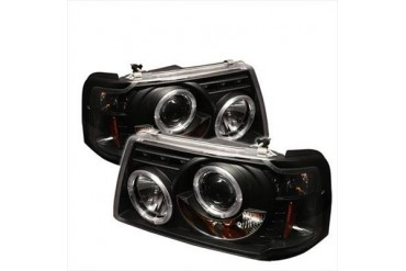 Spyder Auto Group Halo Projector Headlights 5010490 Headlight Replacement