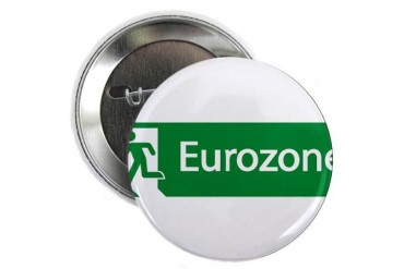 Eurozone Exit Germany 2.25 Button by CafePress