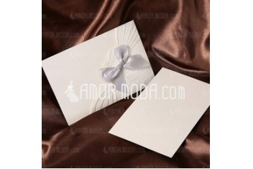 Classic Style Wrap & Pocket Invitation Cards With Bows (set of 50) (114032384)