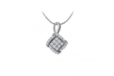 tty Pendant in 14K White Gold with a Free 16 Inch Chain Amazing Price Range