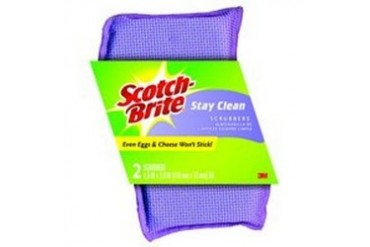 12 Pack 3M 202 Stay Clean Scrubber 2Pk