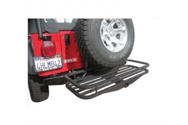 Olympic 4x4 Products Receiver Rack 902-404 Trailer Hitch Cargo Carrier