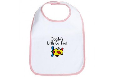 Daddy's Little Co-pilot Bib