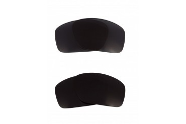 New SEEK OPTICS Replacement Lenses Oakley SCALPEL - Black Grey