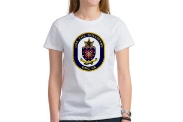 USS The Sullivans DDG 68 Military wife Women's T-Shirt by CafePress