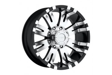 Pro Comp Alloy Wheels Series 8101, 16x8 with 6 on 5.5 Bolt Pattern - Gloss Black 8101-6883 Pro Comp Xtreme Alloy Wheels