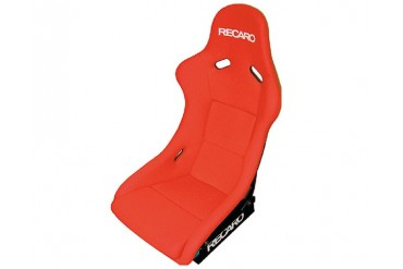 Recaro Pole Position Seat Red JerseyRed Suede Silver Logo