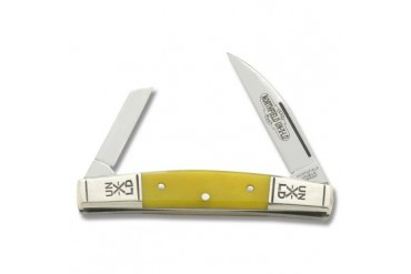 Northfield 2 Blade Signature Congress with Yellow Smooth Bone Handle