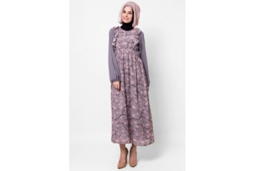 Silkaclothing Morning Cherry Blossom Maxi Dress