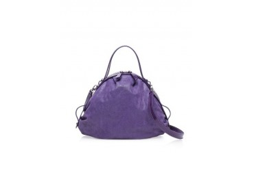 Keira Small Leather Bowling Bag
