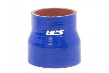HPS 516 to 12 Inch 8mm to 13mm 4-ply Reinforced Reducer Coupler Silicone Hose 4 Inch Long Blue