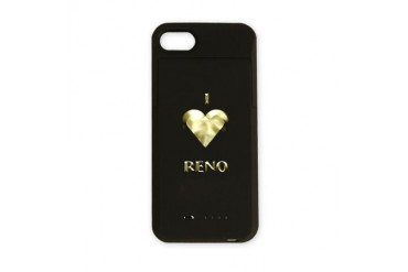 I Love Reno 7 I love iPhone Charger Case by CafePress