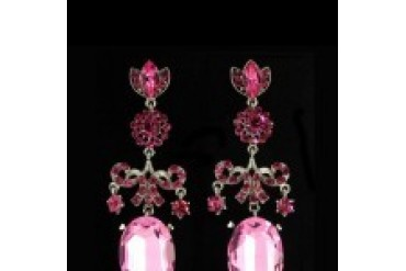 Jim Ball Earrings - Style CE510-Rose