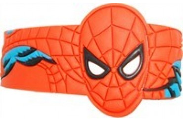 Marvel Comics Spider-Man Head Arms Rubber Wristband
