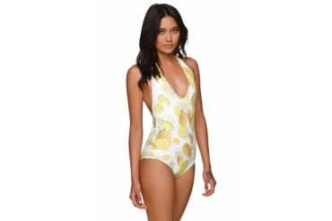 Womens Billabong Swimwear - Billabong Pina Colada One Piece Bathing Suit