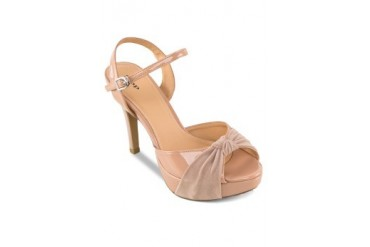 St3p Knot Heels with Ankle Strap