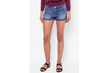 Catwalk88 Mid Wash Denim Shorts