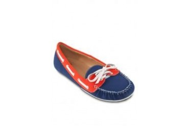 Nose Faux Nappa Boat Shoes