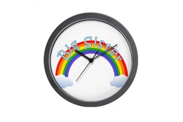 Big Sister Big sister Wall Clock by CafePress