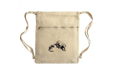 Bull Rage Sack Pack Funny Cinch Sack by CafePress