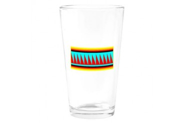 SEMINOLE INDIAN Native american Drinking Glass by CafePress
