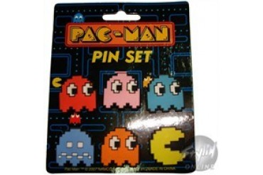 Pacman and Ghosts Pin Set