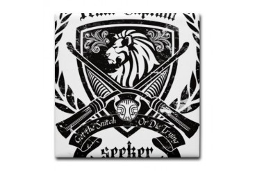 Seeker - Get the Snitch Gothic Tile Coaster by CafePress