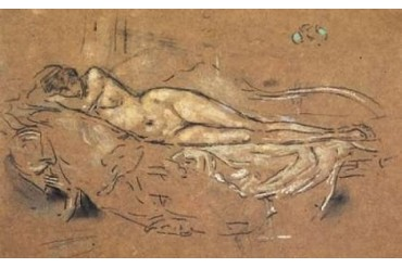 Reclining Nude 1900 Poster Print by James McNeill Whistler (24 x 36)