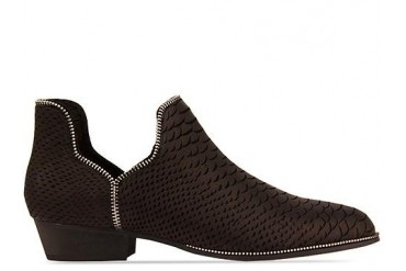 Senso Bertie in Black Matt Snake size 11.0