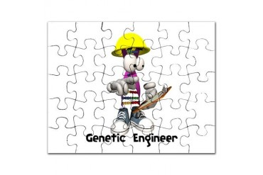 genetic engineering copy.jpg Chemistry Puzzle by CafePress