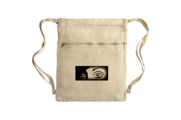 Monique Sack Pack Art Cinch Sack by CafePress