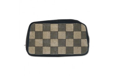 Grunge Tiles Vintage Toiletry Bag by CafePress