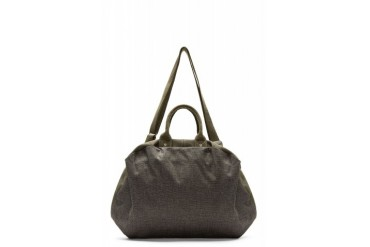 Cte And Ciel Grey Canvas Seine Bowler Bag