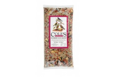 Cole S Nb20 Nutberry Suet Blend Bird Seed Nut And Fruit 20Lb Bag