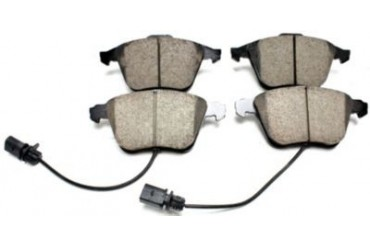 2005-2009 Audi A4 Quattro Brake Pad Set Akebono Audi Brake Pad Set EUR1111 05 06 07 08 09