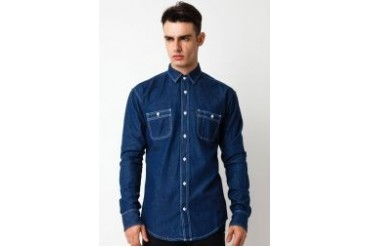 Travis Jeans & Co Chambray Shirt I