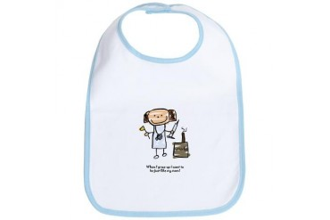 Just like Mom - Kids Bib by CafePress