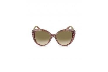 TITA/S S91D8 Animal Print Acetate Sunglasses