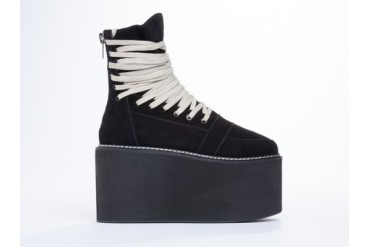 UNIF Nobody Platform in Black size 6.0