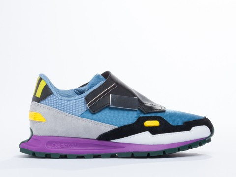 first look excellent quality best sell Adidas Originals X Raf Simons Formula One in Powder Blue ...