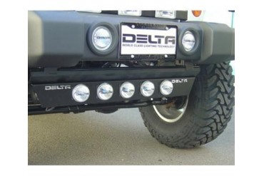 Delta Industries Combo Ground Light Bar 01-9562-7BX Offroad Racing, Fog & Driving Lights