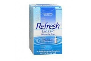 Refresh Classic Preservative-Free Eye Drops Single-Use Containers 50 ct