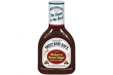 Sweet Baby Ray s Hickory amp Brown Sugar Barbecue Sauce 18 oz Bottle