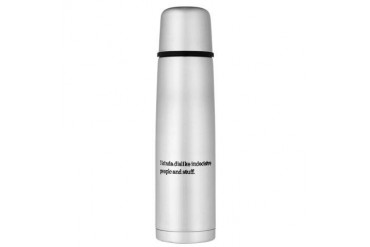 indec.jpg Large Thermos Bottle Funny Large Thermosreg; Bottle by CafePress