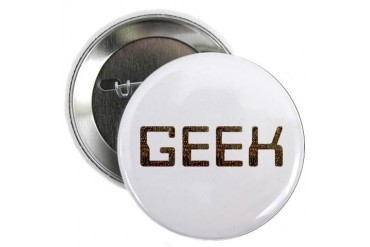 Geek Circuit Button Geek 2.25 Button by CafePress